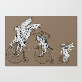 Steam Punk Pets Canvas Print
