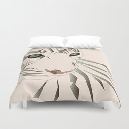 Tiger's Tranquility Duvet Cover