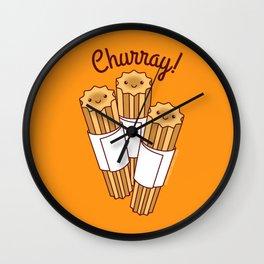 Churray! Wall Clock