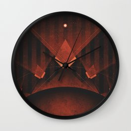 Triton - Tritonian Geysers Wall Clock