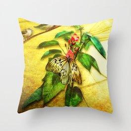 Happy Summer Throw Pillow