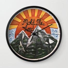 Mold Me Lord Isaiah 64:8 Wall Clock