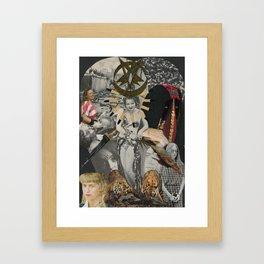 The Female Beast Framed Art Print