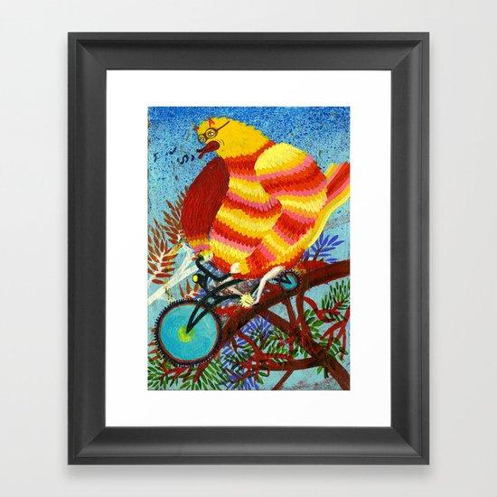 birdy birdy Framed Art Print