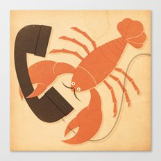 Lobster Salvador Canvas Print