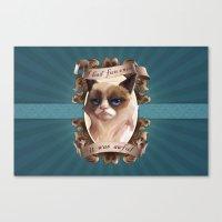 grumpy Canvas Prints featuring Grumpy by TsaoShin