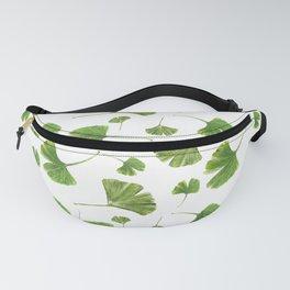 Ginkgo Leaf Pattern Fanny Pack