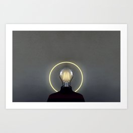 holy mind Art Print