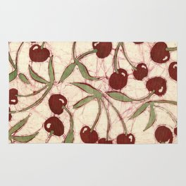 Sweet Cherry Batik Rug
