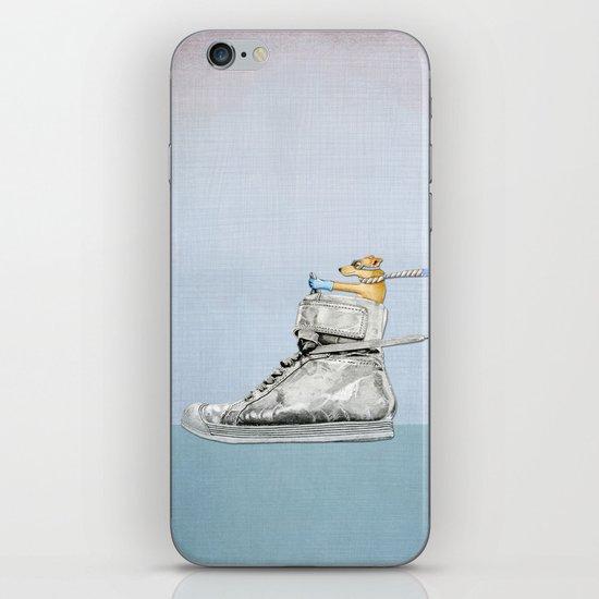 Dog Driving a Shoe iPhone & iPod Skin