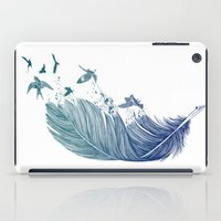 fly iPad Cases featuring Fly Away by Rachel Caldwell
