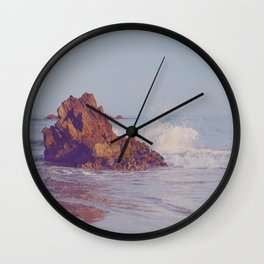 Twilight Crash Wall Clock