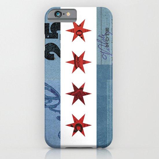 Ephemeral Chicago Flag iPhone & iPod Case