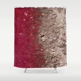 Grape Asphalt Shower Curtain