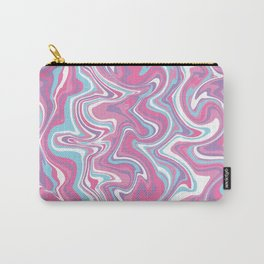 Marbled Pattern [Faux] Carry-All Pouch
