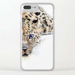 Local Eyes 'Leopard' Clear iPhone Case