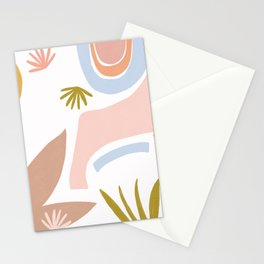 Retro Flower Art II Stationery Cards