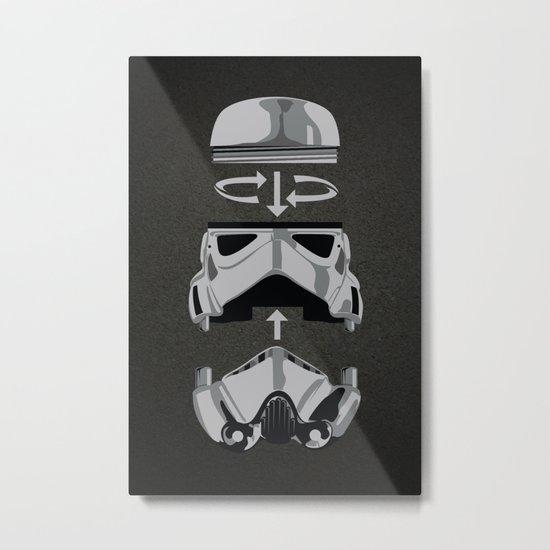 construct-a-trooper. Metal Print