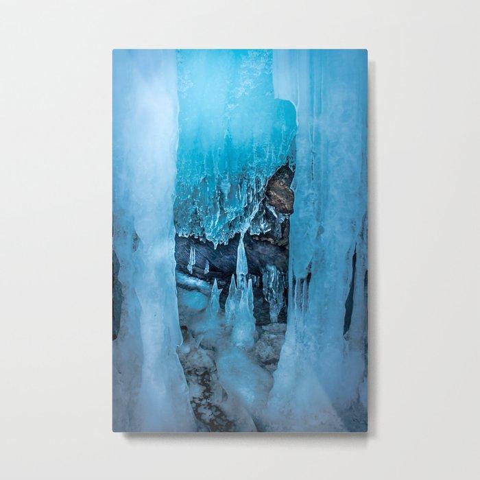 The Ice Palace Metal Print