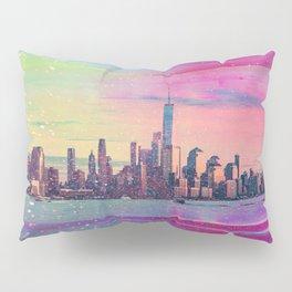 New York City Skyline Art Pillow Sham