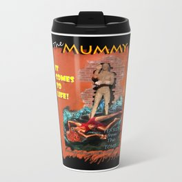 Woman in the red dress meets The Mummy Metal Travel Mug