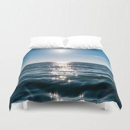 Sea Blue Sky sun Duvet Cover