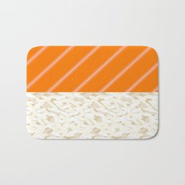 Salmon Sushi - the Yummy Collection Bath Mat