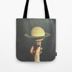 Saturn Cone Tote Bag