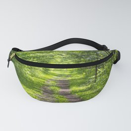 Trail Through Green Woods Fanny Pack