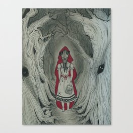 Feral Red Canvas Print