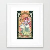 calendar Framed Art Prints featuring Calendar by Bory