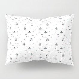 boats subtle pattern Pillow Sham