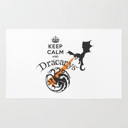 Keep Calm and Drakarys Rug