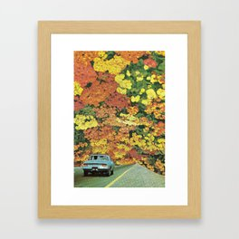 Ritorno a casa Framed Art Print
