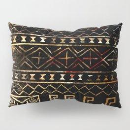 Golden Mud Cloth Pillow Sham