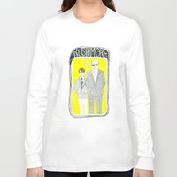 rushmore Long Sleeve T-shirts featuring Rushmore by Mexican Zebra