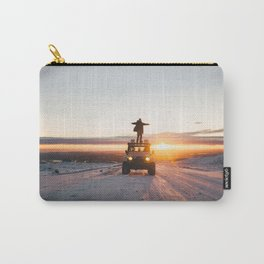 A Landy in the Landscape of Iceland Carry-All Pouch