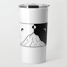 Phases de la lune 2 Travel Mug