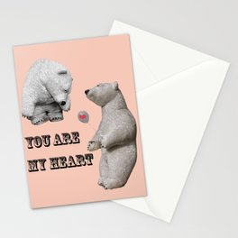 Declaration of love Stationery Cards