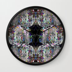 Blending modes 3 Wall Clock