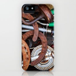 Rustic Tools iPhone Case