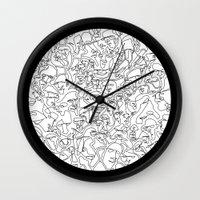 mirror Wall Clocks featuring Mirror by 5wingerone