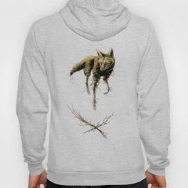Amber Maned Wolf Hoody