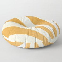 Sunrise in Mustard Floor Pillow