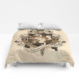 Wolf Coat Of Arms Heraldry Comforters