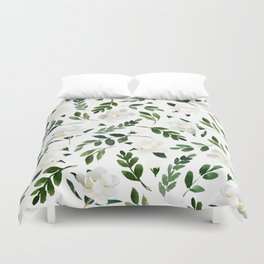 Magnolia Tree Duvet Cover