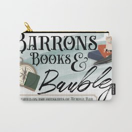 Barrons Books & Baubles Carry-All Pouch