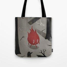 Foret brulée  Tote Bag