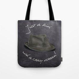 Hat For Leonard, Chalkboard Dreams Tote Bag