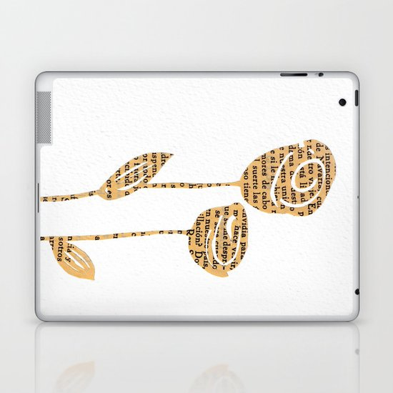 PAPERCUT FLOWER 5 Laptop & iPad Skin